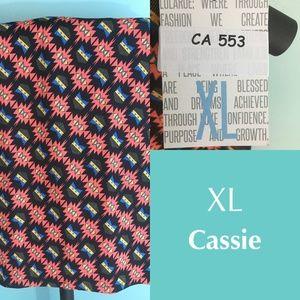 LuLaRoe Cassie skirt- XL